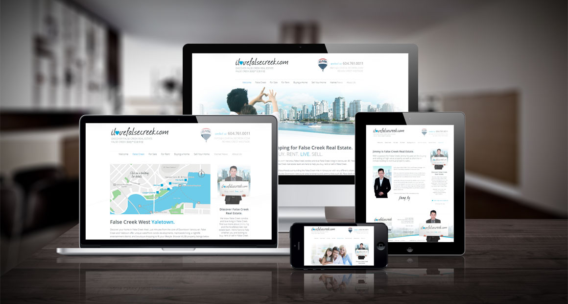 Custom myRealPage website design by myRealDESIGN